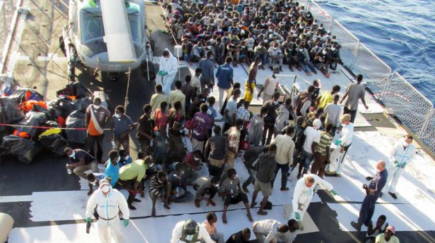 migranti, stretto di messina, Sicilia, Archivio, Cronaca
