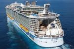 Arrivata la nave crociera più grande al mondo
