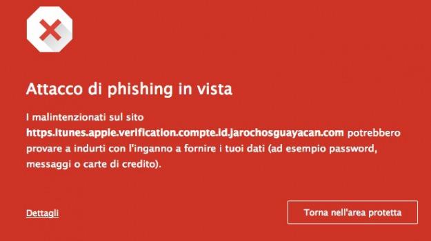 apple, ios 8, phishing, Sicilia, Archivio, Cronaca