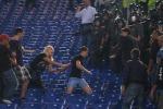Tifosi arrestati per i disordini in Roma-Cska