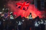 Dopo referendum scontri a Glasgow