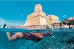 Itinerario archeologico subacqueo ripristinato nei fondali di Le Castella