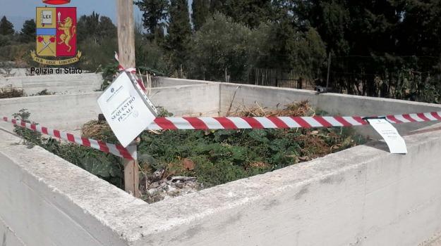 caronia, impianto depurazione, Sicilia, Archivio