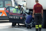 Gazzella tampona Tir muore carabiniere