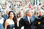 Clooney annuncia: mi sposo in Italia