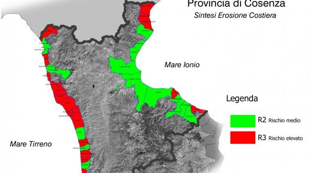 erosione, occhiuto, provincia, Cosenza, Archivio