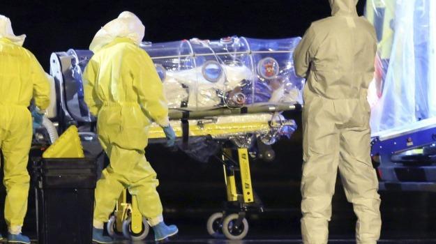ebola, infermiera, madrid, spagna, Sicilia, Archivio, Cronaca