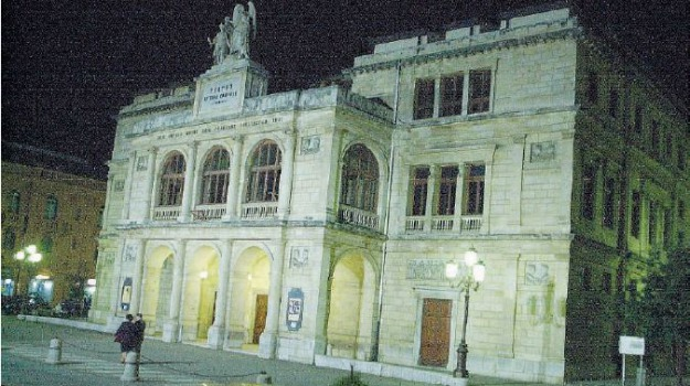 messina, teatro, vittorio emanuele, Messina, Sicilia, Archivio