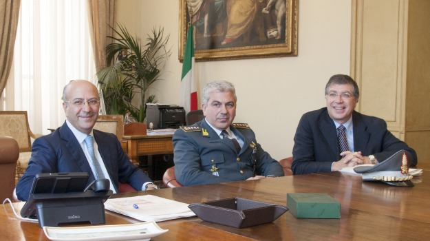 guardia di finanza siracusa, protocollo d'intesa, università messina, Messina, Sicilia, Archivio