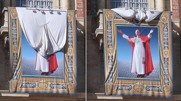 beatificazione, paolo vi, Sicilia, Archivio, Cronaca