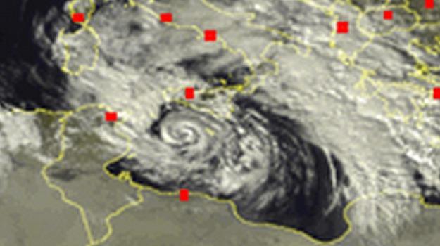 ciclone, Sicilia, Archivio