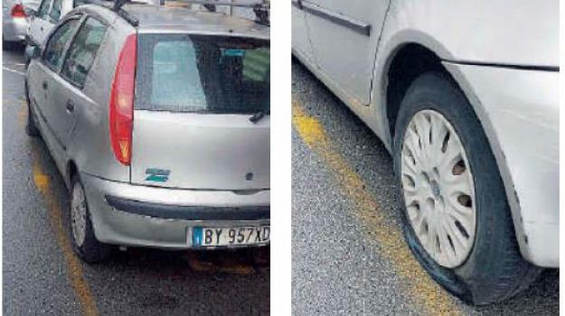 atto vandalico, giuseppe crupi, gomme tagliate, Messina, Archivio