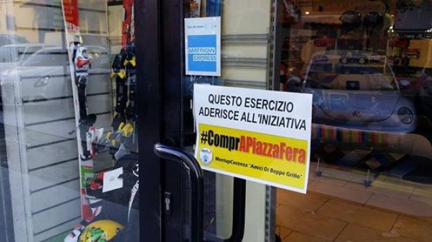 meetup cosenza, negozi, piazza fera, Cosenza, Archivio
