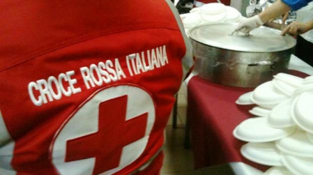 messina, pranzo croce rossa, Messina, Archivio