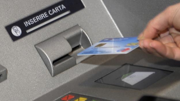 bancomat, manomesso, Reggio, Archivio