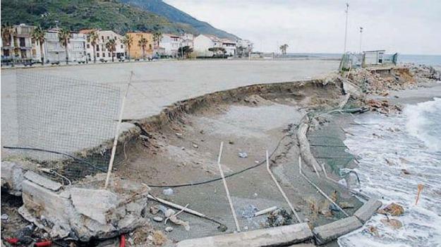 erosione costiera, Sicilia, Archivio