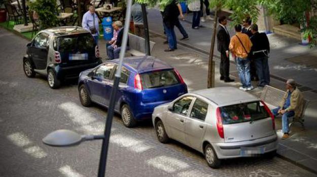 multe, palermo, parcheggiatori abusivi, polizia municipale, sanzioni, Sicilia, Archivio