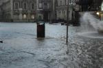 Nubifragio su Catania, il video del temporale