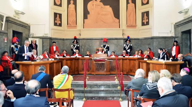 anno giudiziario, Messina, Archivio