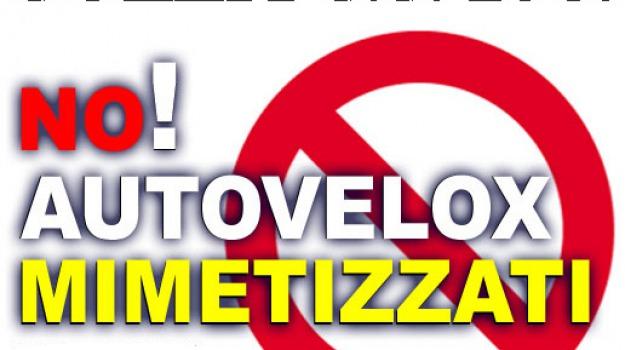 autovelox, basta vittime 106, cariati, ss 106, Calabria, Archivio