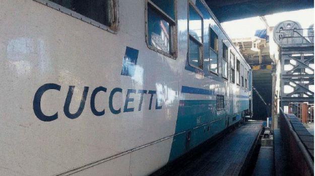 treni a lunga percorrenza, Messina, Sicilia, Archivio