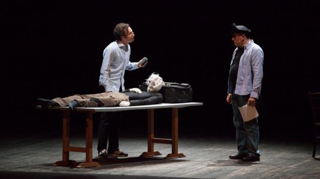 fabrizio coniglio e bebo storti, suicidi? tangentopoli in commedia, Messina, Archivio