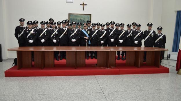 arma carabinieri, catanzaro, giuramento, vice brigadieri, Cosenza, Calabria, Archivio