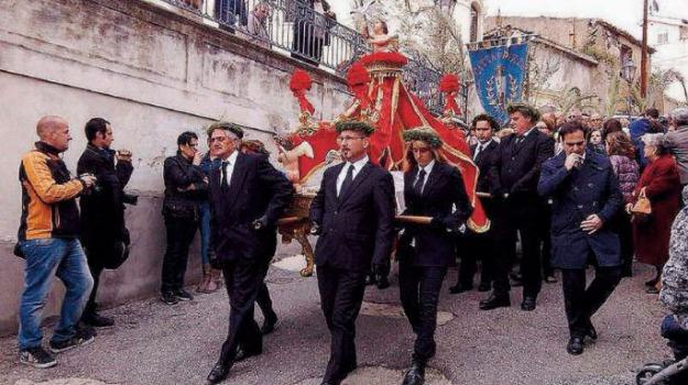 pasqua, processioni, Catanzaro, Calabria, Archivio