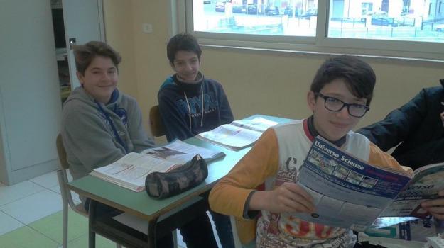 davide d'agostino e lorenzo familiari, domenico panarello, giochi delle scienze sperimentali, Messina, Archivio