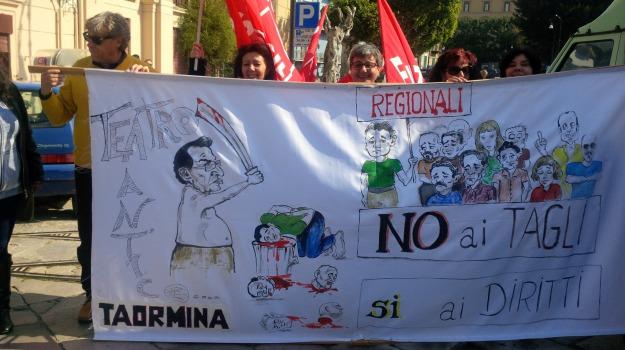 protesta regionali, Messina, Archivio