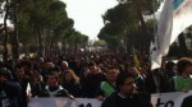 corigliano, manifestazione, no triv, Calabria, Archivio