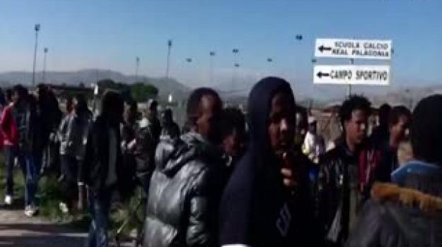 cara mineo, migranti, mineo, protesta, Sicilia, Archivio