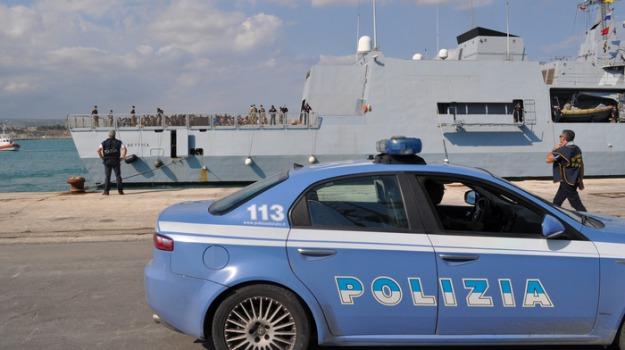 pozzallo, Presunto terrorista, sbarco, siriano, Sicilia, Archivio