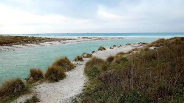 spiagge: bandiere blu 5 in sicilia e 4 in calabria, tusa, Calabria, Archivio