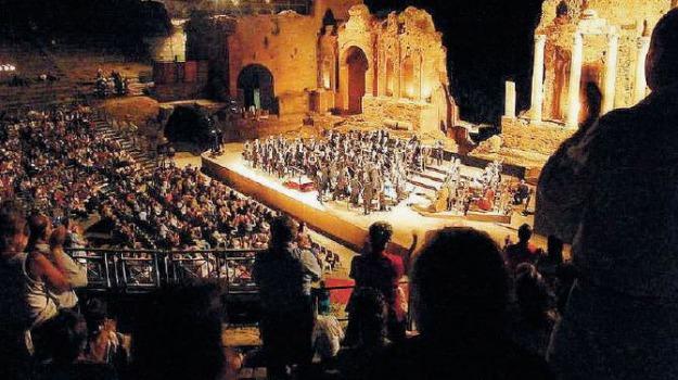 teatro antico taormina, Messina, Sicilia, Archivio