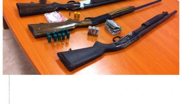 armi, carabinieri, corigliano, denunce, Calabria, Archivio