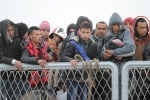 La foto dello sbarco del presunto terrorista