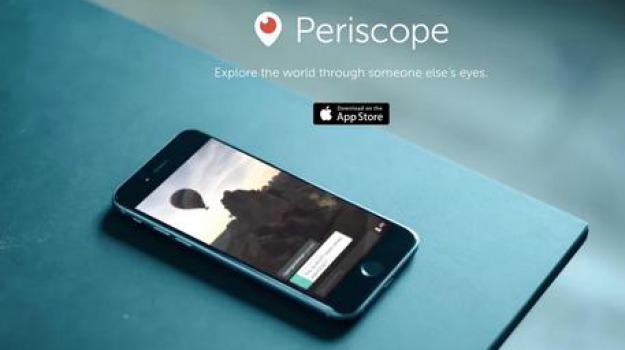 android, live streaming, periscope, Sicilia, Archivio, Cronaca