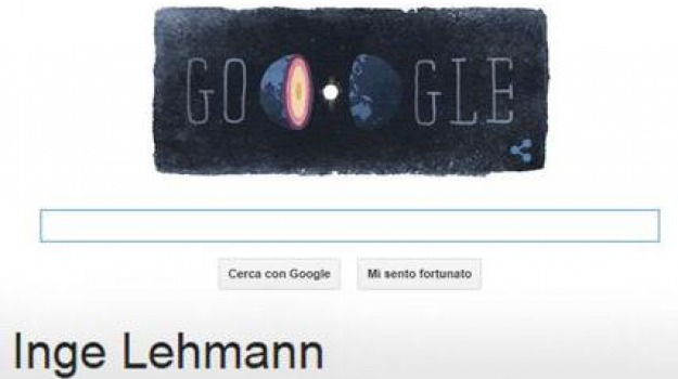 doodle, inge lehmann, nucleo terrestre, Sicilia, Cultura