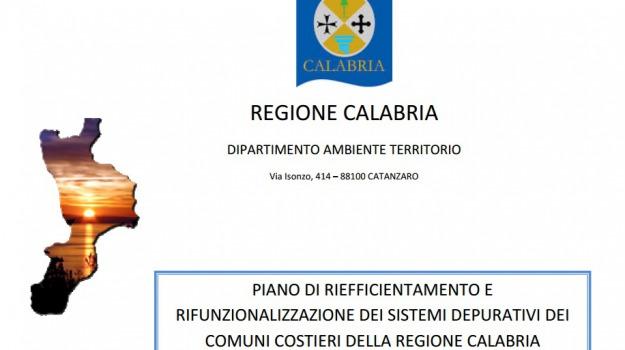 calabria, finanziamenti, sistemi depurativi, Calabria, Archivio