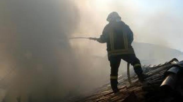 casalinghi, incendio, rossano, Cosenza, Calabria, Archivio