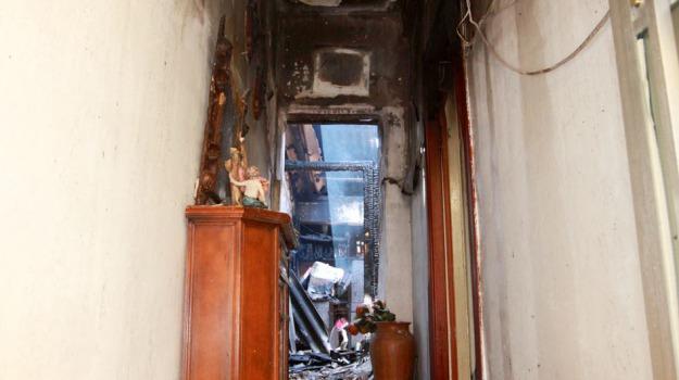 incendio ritiro, Messina, Archivio