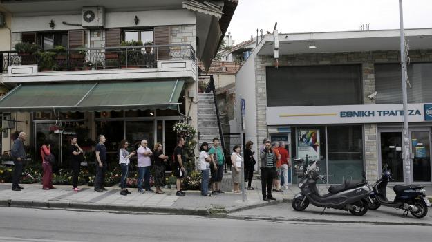 default, grecia, grexit, referendum, Sicilia, Archivio, Cronaca