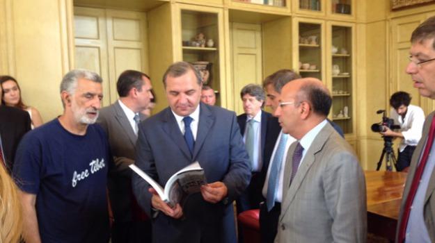 ministro russo, puchkov, Messina, Archivio