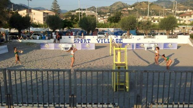 amantea, beach volley, campionato, Sicilia, Archivio