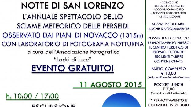 fotografia, novacco, pollino, san lorenzo, stelle, Calabria, Archivio