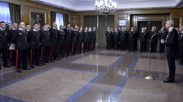 amantea, carabinieri, riconoscimento, tullio del sette, Calabria, Archivio