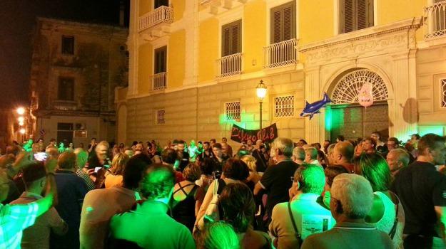 musica, piazza, rossano, Sicilia, Archivio
