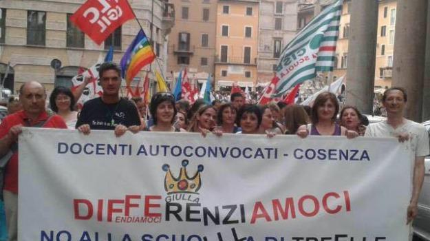 docenti calabresi, ikea, lavoratori, protesta, Cosenza, Calabria, Archivio