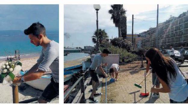 ilaria boemi, spiaggia ringo, Messina, Archivio